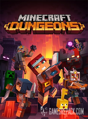 Minecraft Dungeons (RUS/ENG/MULTI13) [Repack]
