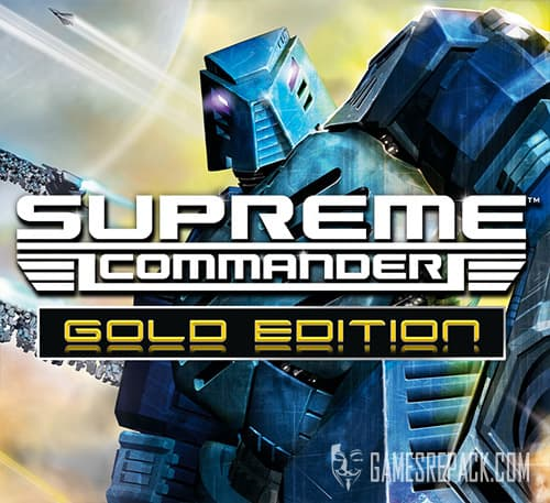 Supreme Commander: Gold Edition (RUS/ENG/MULTI9) [Repack]