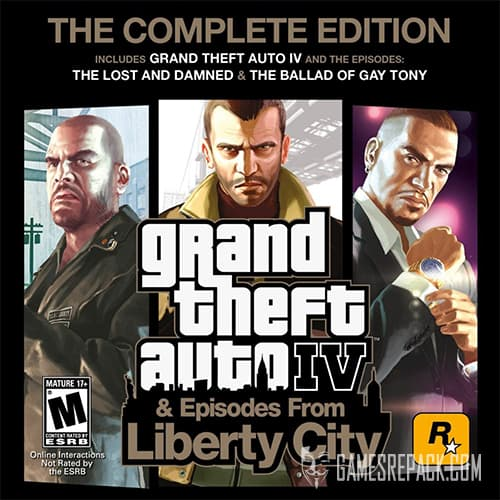GTA 4 / Grand Theft Auto IV - Complete Edition (2010) [RePack] от xatab