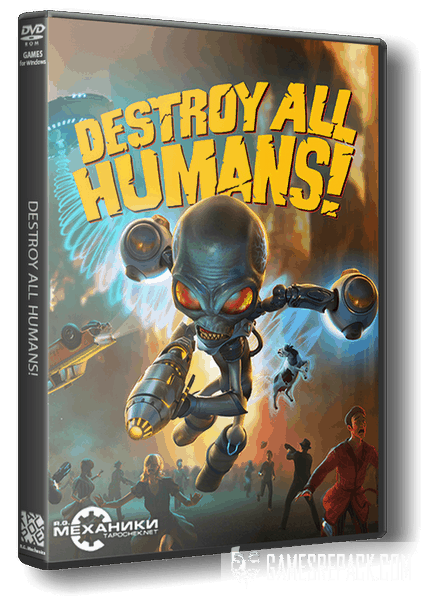 Destroy All Humans! (RUS|ENG|MULTi12) [RePack] от R.G. Механики
