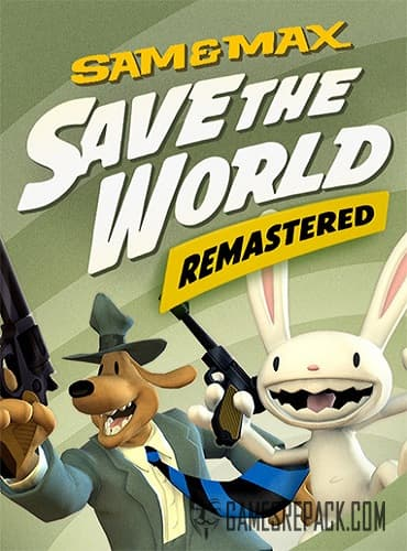 Sam & Max Save the World: Remastered (RUS/ENG/MULTI9) [Repack] by FitGirl