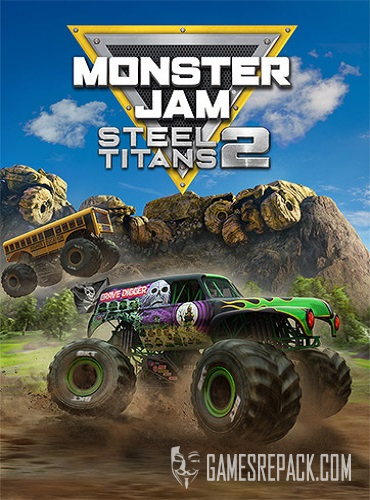 Monster Jam Steel Titans 2 (RUS/ENG/MULTI11) [Repack]