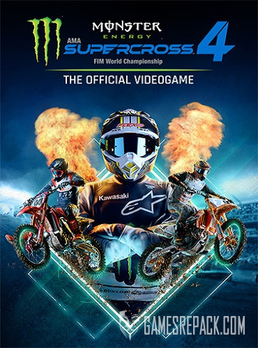 Monster Energy Supercross: The Official Videogame 4 (ENG/MULTI7) [Repack]