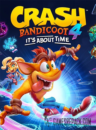 Crash Bandicoot 4: It's About Time (RUS/ENG/MULTI11) [Repack]