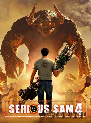 Serious Sam 4: Digital Deluxe Edition (RUS/ENG/MULTI13) [Repack] by FitGirl