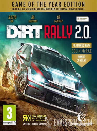 DiRT Rally 2.0: Game of the Year Edition (ENG/MULTI8) [Repack] by FitGirl